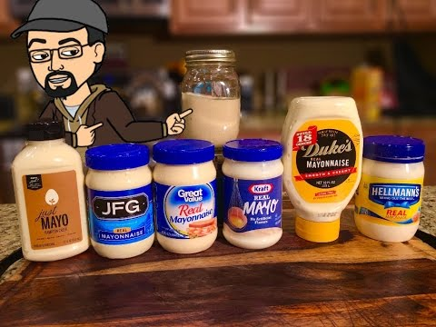 Mayonnaise Playing With Your Food