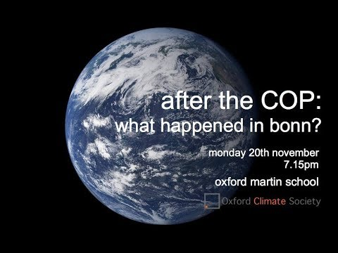 Panel: After the COP - What happened in Bonn?