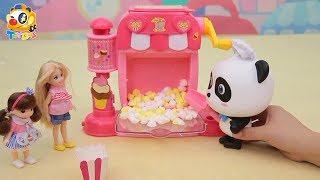 Magical Juice & Popcorn Machine | Baby Panda Chef | Kids Toy Story | ToyBus