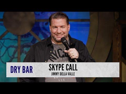 Spanish Skype Call. Jimmy Della Valle