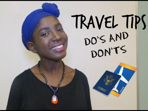 Travel Tips Do's and Don'ts \Support for Haiti| CharisMaggie Tv