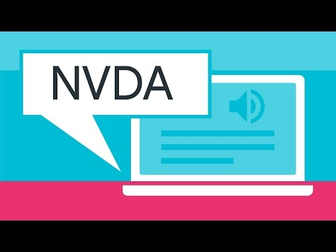 Screen Reader Basics: NVDA -- A11ycasts #09