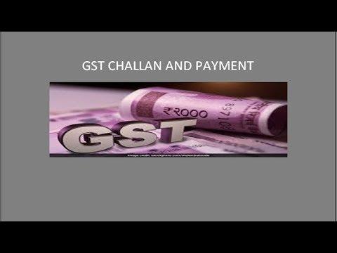 How to Make GST challan & payment - CA  Bimal Jain
