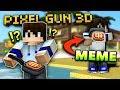 MEME WEAPON! 😂 | Pixel Gun 3D - Thanksgiving Pie [Review]