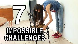 7 ONMOGELIJKE CHALLENGES! || MeisjeDjamila