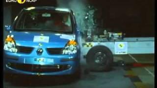 Краш тест Renault Modus 2004 (E-NCAP)