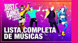 LISTA COMPLETA DE MÚSICAS - Just Dance 2020