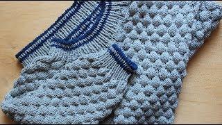 Как вязать детский свитер / джемпер / пуловер // Реглан сверху