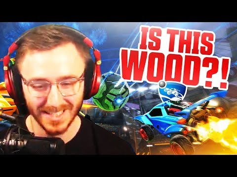 IS THIS WOOD?! - Rocket League Duos Gameplay thumbnail