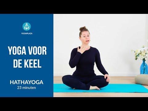 Yoga voor de keel