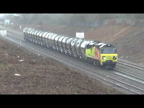 Colas Movements And Other Freight At Severn Tunnel Junction And Caldicot January 2017