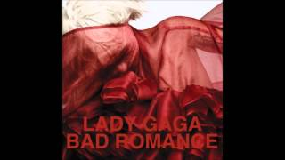 Lady Gaga - Bad Romance Karaoke / Instrumental with backing vocals and lyrics