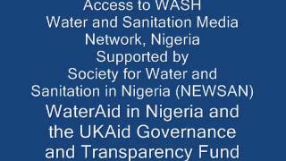 Impacts of Climate Change on Water Supply and Sanitation, Lagos, Nigeria