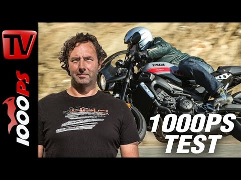1000PS Test - Yamaha XSR900 Abarth - Abarthig cooler Cafe Racer