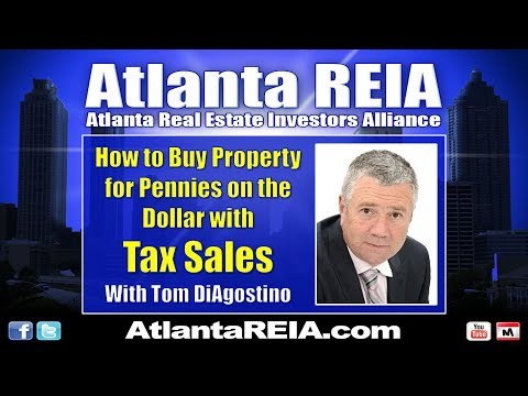 BIG March 2018: How to Buy Houses Cheap at Tax Sales with Tom DiAgostino
