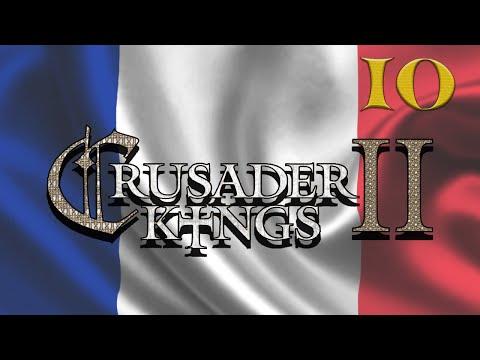 Crusader Kings 2  Conde Francês #10 (VAMOS JOGAR) Ai minha Jerusalem...