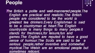 Английский язык.Великобритания 2