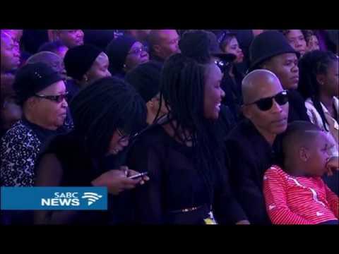 Ray Phiri's band, Stimela, set mourners dancing at his funeral