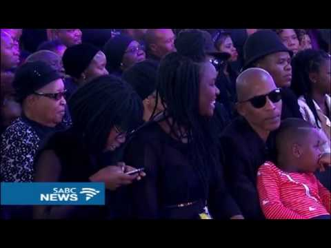 Ray Phiri's band, Stimela, set mourners dancing at his funeral