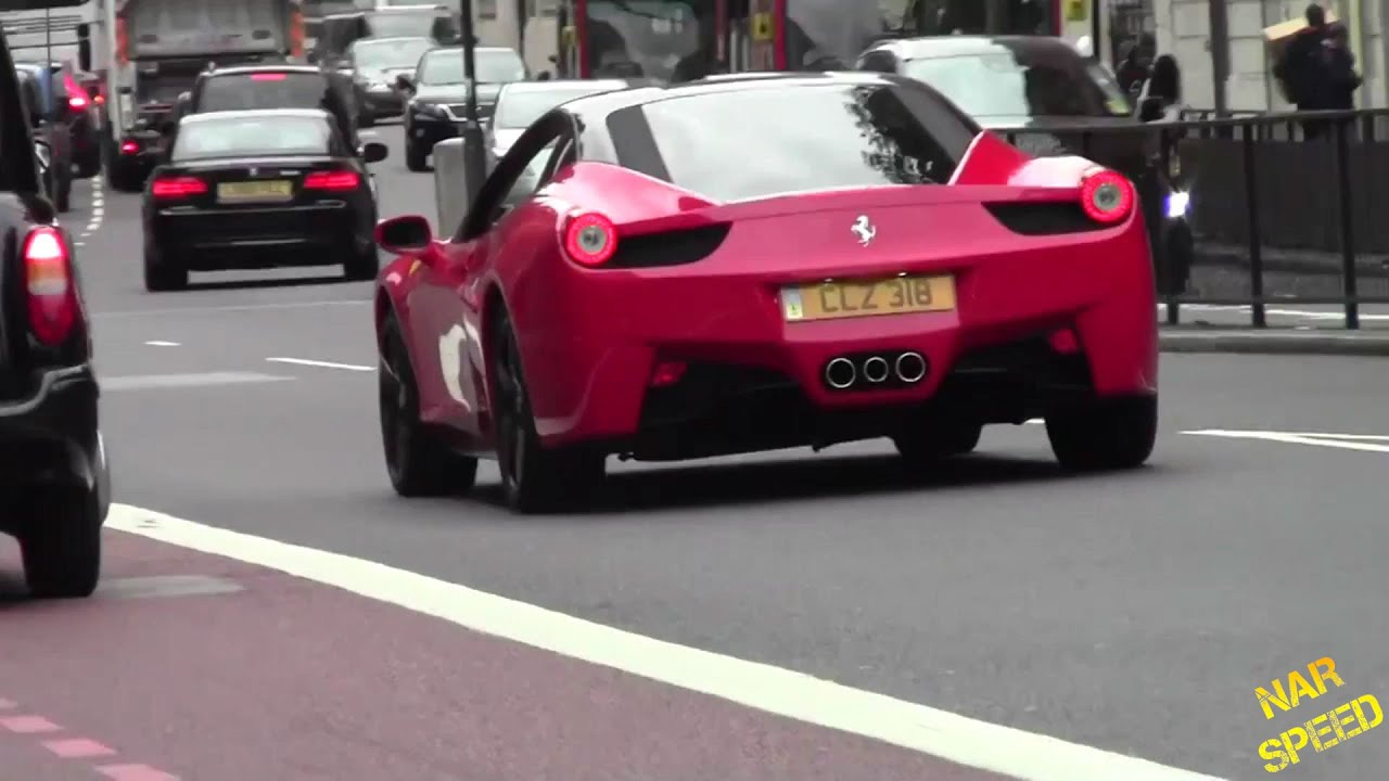 FAKE Ferrari 458 Italia In London - YouTube
