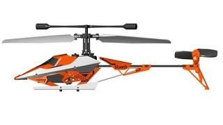 Silverlit sky dagger helicopter 2.4 GHZ review.