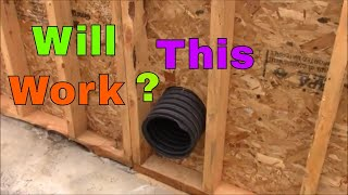 Geothermal Air Cooling Pipe// Will It Work?
