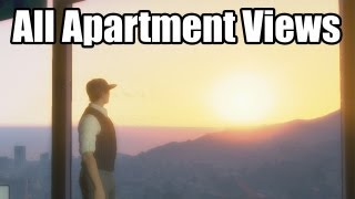 GTA Online: High End Apartment Views (Apartments with 10 Car Garages)