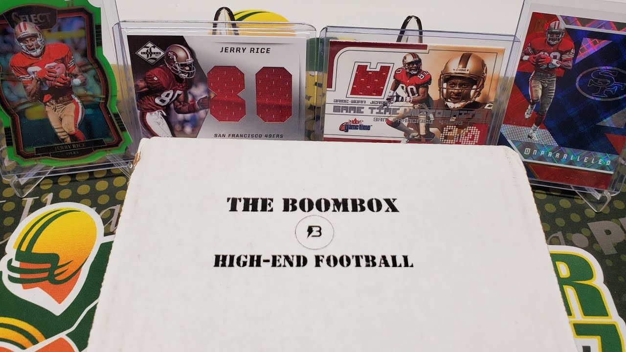 August 2020 The Original Boombox High-End Football. 15 Pack Box!