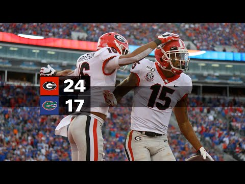 Georgia Bulldogs Football Vs. Florida Gators (2019) - Full Game