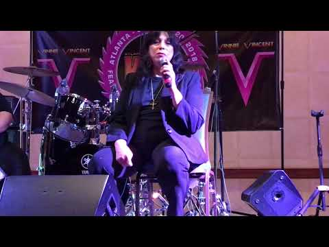 Vinnie Vincent - SATURDAY Atlanta Expo Interview - PART 1