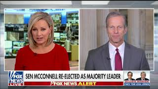 Elected Majority Whip John Thune Discusses the Mueller Investigation and the Economy