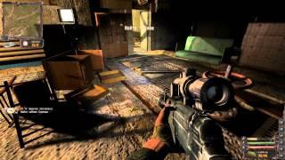 Сталкер  Lost Alpha  Тайник Стрелка, в подземке Агропрома. Книга и флешка.(, 2014-04-30T07:11:45.000Z)