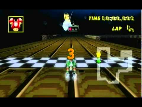 MarioKart Wii Music hack - Diddy Kong Racing music!! (Nostalgia bomb hack)