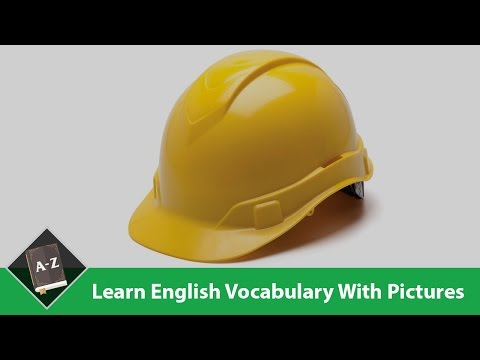 Learn English - English Vocabulary - Work/ Safety Equipment