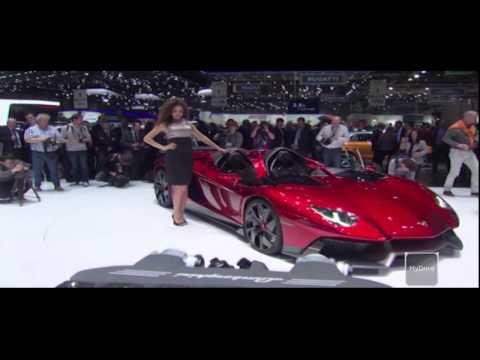 Lamborghini Aventador J Launched to World Acclaim