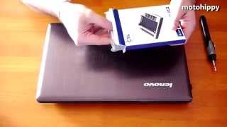 Cómo instalar un segundo disco al portátil en lugar de la grabadora DVD - HD SSD DVD Caddy Lenovo Z