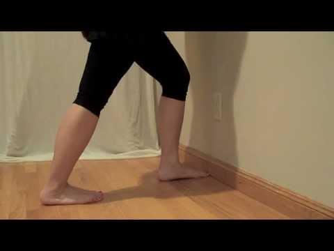 dancer's stretch  calves  youtube