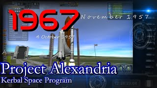 1967 History of Spaceflight in RSS / Project Alexandria-14 / KSP 1.0.4
