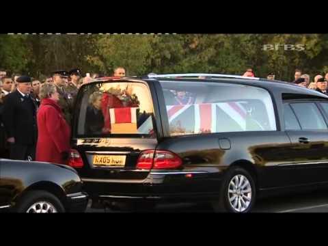 WO2 Ian Fisher Repatriated To The UK 14.11.13