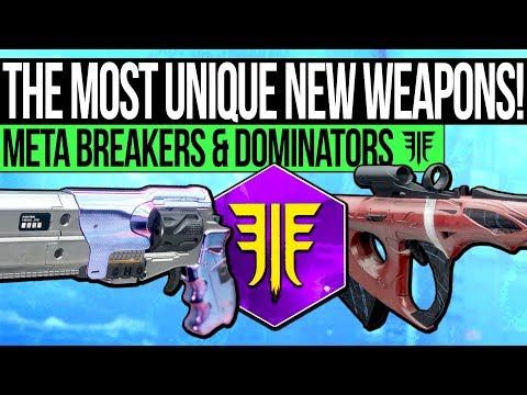 Destiny 2 | The Most UNIQUE Forsaken Weapons! - New Rare Archetypes, God Rolls & Exclusive Weapons! thumbnail