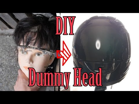 DIY How to make Binaural Dummy Head ASMR under US $130