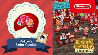 Animal Crossing: Pocket Camp - Pekoe's Boba Cookie