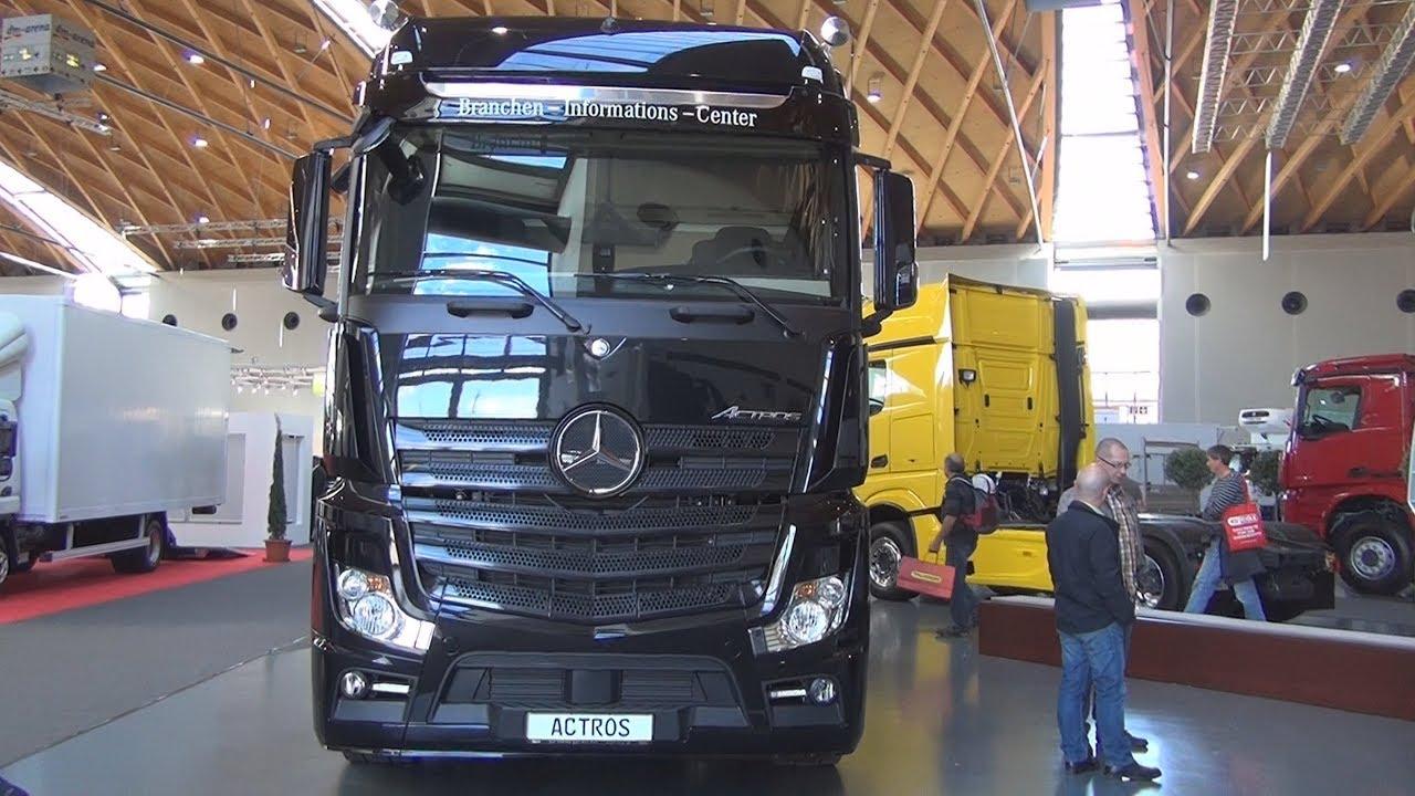 Mercedes Benz Actros 1848 4x2 Tractor Truck 2016 Exterior And