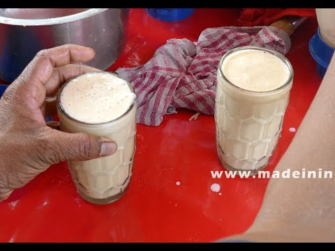 How To Make A Banana Milkshake | ROAD SIDE JUICE CENTER Street Food