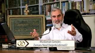 Gambar cover Müslüman Gençler Zamanı Nasıl Değerlendirmeli? - Nureddin Yıldız