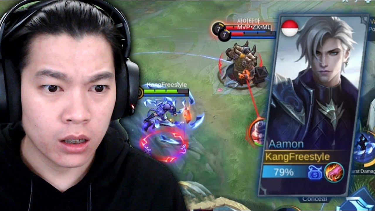 Review Hero Aamon Kakak Tiri Gusion, Keren Banget Sih Ini Hero! - Mobile Legends