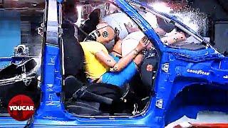 Car Crash with Feet on Dashboard