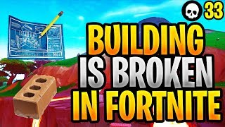 Building Is BROKEN In Fortnite! Here's Why... (Fortnite Season 8 Building Glitches)