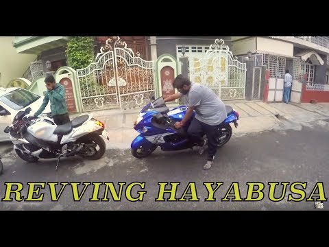 BUSA VS BUSA, Loud sound ! + Why is she there ?? Bangalore reactions 51