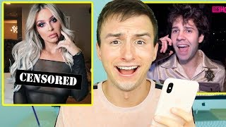 REACTING TO YOUTUBER'S HALLOWEEN COSTUMES